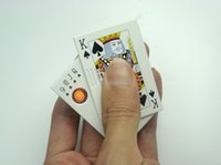ace lighter - Poker Ace Lighte pc Windproof Electric cigarette machine electronic gadgets usb lighter metal money detector