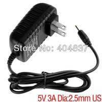 Wholesale EU USplug mm mm V A Charger Power Adapter supply for tablet pc flytouch superpad ainol cube pipo