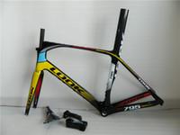 Wholesale 2015 newest mould oem black red full carbon road bike frame road racing bicycle K frames XS S M L