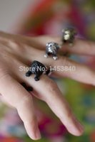 antique onyx rings - ring credit Pug dog ring Antique Silver Antique golden black colour Pug ring Pet ring Animal
