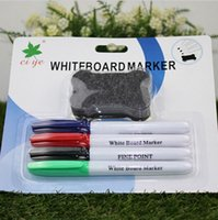board eraser with marker - Hot Sale Ciye Office white board marker colors with an magnetic whiteboard eraser marker for white board
