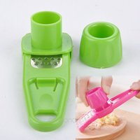 Wholesale New Kitchen Tools Creative Multifunction Grind Garlic Ginger Device DIY Garlic Food Mill Cut Tools Blender