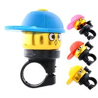Cheap Cute*Cartoo Fashion Bike Bicycle Cycling Hat Ring Alarm Metal Handlebar Bell Cap Horn Bicycle Bell Free