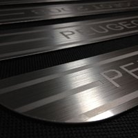 Wholesale Peugeot Welcome pedal threshold of Article pedal brushed stainless steel door sill strip External