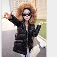 add down coat - Winter Down Jacket New fashion White DuckS Down Jacket add Thick warm Large Fur Collar Down Parkas Jacket Winter Women Coat