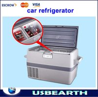 Wholesale Car refrigerator car home dual refrigeration compressor L car convenient mini freezer refrigeration minus Celsius