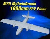 airplane models - New MyTwinDream mm FPV EPO RC Airplane Remote Control Electric Powered Glider UAV Model Plane Radio Remote Control Toy MFD