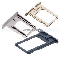 Wholesale 10pcs original Sim Card Tray Slot Holder Replacement for iPhone S GS order lt no track