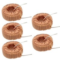 Wholesale 2015 NEW Special Offer High Standard uH A Brass Tone Toroid Core Inductor Coil Wire Wind Wound for DIY