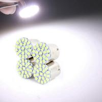 Wholesale 4Pcs Useful V White Car BA15S P21W Tail Signal SMD LED Bulb Light