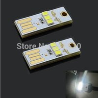 Wholesale Mini USB Light Camping Night Mobile USB LED Lamp Light Ultrathin USB W lm LED White Mobile Power USB Light