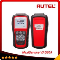 ad usb - 2015 Top selling Autel MaxiService VAG505 For VW AD SKODA SEAT Scan Tool original