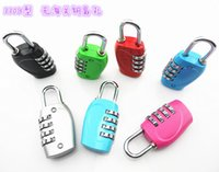 best combination locks - new best selling explodes the latest bags padlock All metal combination lock factory outletnew