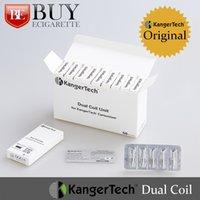 Wholesale Authentic Kanger Protank Dual Coils pack for Kangertech Aerotank Mega Aerotank Mini Protank T3D EVOD EVOD Glass Clearomizer