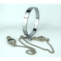 Cheap Sex Products for Men Best Stainless Steel Collar
