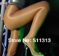 Cheap Wholesale-FREE SHIPPING high quality oil shiny sexy show thin ultrathin women stockings pantyhose