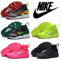 fish and - 2016 Nike Air Huarache Duck Track Oregon Leather Limit Running Shoes For Mens Cheap Original Quality Nike Air Huaraches Men Shoes