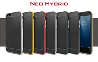 combine shipping - for iphone case spigen Neo Hybrid hard cover case soft TPU hard PC combined phone case with fashion color DHL fast