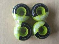 aggressive skates - 2015 New Arrival Skating Wheels High Density PU mm ELEMENT Green Durable Aggressive Skateboard Wheels For Skaters