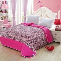 Wholesale Pink leopard grain design quilt cotton fabric super healthy and comfortable