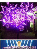 artificial outdoor landscaping - 2 M M W outdoor garden landscape Christmas decorative led artificial trees light MYY159