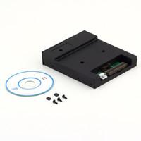 """Noir 5V 3.5 """"lecteur de disquette 1.44Mo émulateur USB Flash Drive prise Simple"""