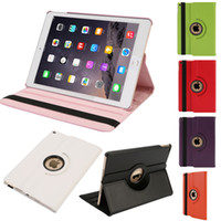 Wholesale China Promotion iPad Air PU Leather Case Cover Rotating Protective Shell for the th Gen quot iPad