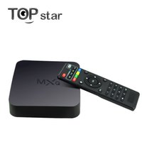 Wholesale New MXQ TV BOX MX Amlogic S805 Quad Core Android TV box Kitkat K GB GB XBMC IPTV fully Loaded WIFI Airplay Miracast