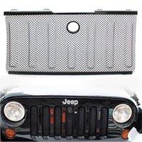 jeep wrangler - Black Bug Screen Mesh Stainless Grille Grid for Jeep Wrangler JK Insert Cover