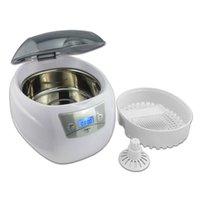 Wholesale JP s W Mini Glasses Watch Jewelry CD Digital Ultrasonic Cleaner Bath ml order lt no track