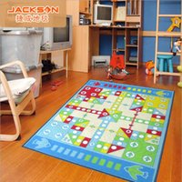 aircraft carpet - Children s cartoon aircraft flight game carpet environmental protection non slip nylon bedroom carpet size X130cm