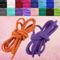 Wholesale ES4631 soft leather suede lace cord rope string bracelet necklace craft gift diy strap