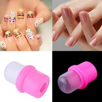 Wholesale 1Pcs Wearable Nail Art Reusable Soaker Acrylic Tips Polish Remover Gel Cap Top Quality