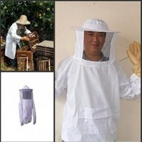 beekeeping veils - Beekeeping Bee Veil Mask Smock Jacket Coat Protecting Face Suit New Arrival
