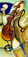 bass paintings - Wall decoration for office high quality Alfred Gockel s hand painted oil paintings Lowdown Bass