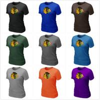 best nhl - Sell NHL Chicago Blackhawks Big Tall Logo Women s T Shirt XS XXL Size Colors Best Price Mix Order