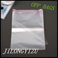 Wholesale 14 CM Clear Cellophane Poly Bag Self AdhesiveTransparent Plastic Bag Packing Opp Bag