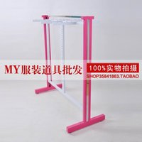 Cheap MY costumes Clothing store exhibition stand shelves Stainless