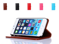 bag book cover - Vintage Stand Wallet PU Leather Case for iPhone6 S quot Flip Book Style Phone Bag Cover with Card Holder For iPhone6 s
