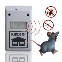 Wholesale Ultrasonic Electronic Mouse Repeller Anti Mosquito Insect Reject Cockroach Pest Control Retail sv10 SV001561