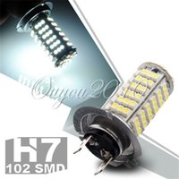Wholesale H7 SMD LED Car Auto Headlight Pure White Fog Lights Bulb Lamp k for DC V