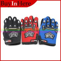 atv cycle sports - Motorcycle Gel ATV Dirt Bike Bicycle Cycling Bikin Full Finger Riding Racing Climbing Sports Breathable Slip Gloves colors