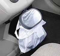 Wholesale New Portable Plastic Car Garbage Trash Bag Frame Holder Easy Dust Car Universal