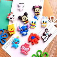 animal fridge magnets for kids - PVC Fridge magnets home decor pc set kids Magnetic decorative laminated wall stickers home decoration wall art stickers
