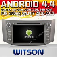 dvd audio - WITSON Car DVD Player Bluetooth GPS Android for NISSAN SYLPHY B1 car audio Inch Capactive HD X600 Screen A9901N
