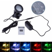 Wholesale High quality New V Underwater RGB Led Light Waterproof IP68 fountain pool Lamp Aquarium Fish tank Light for Swimming Pool Pond Light