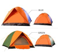 Wholesale Good quality Outdoor leisure double door tents three to four people SY005