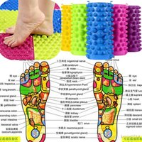 appliances wholesale prices - Foot Massage Mat Acupressure Blanket Shiatsu Sheet Fingerboard Family Massage Appliances Body Relax Pad Cushion DHL Free Factory Price