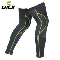 Wholesale Cheji Brand New Bicycle Bike Cycle Legwarmers MTB Spring Summer UV Warm Cycling Legging Ciclismo Leg Warmers Sleeve for Men