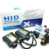 al por mayor kit ocultado 35w h7-35W de alta calidad HID Xenon Kit de conversión Delgado H7 6000K H1 H3 H11 H8 H9 H11 H10 9005 9006 880 881 5000k 43000k 6000k 8000k 10000k 12000k